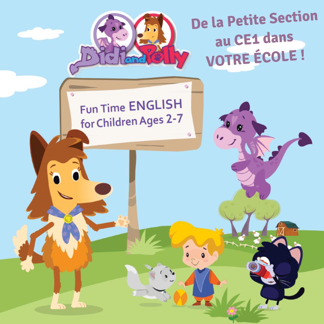 cours anglais ecole