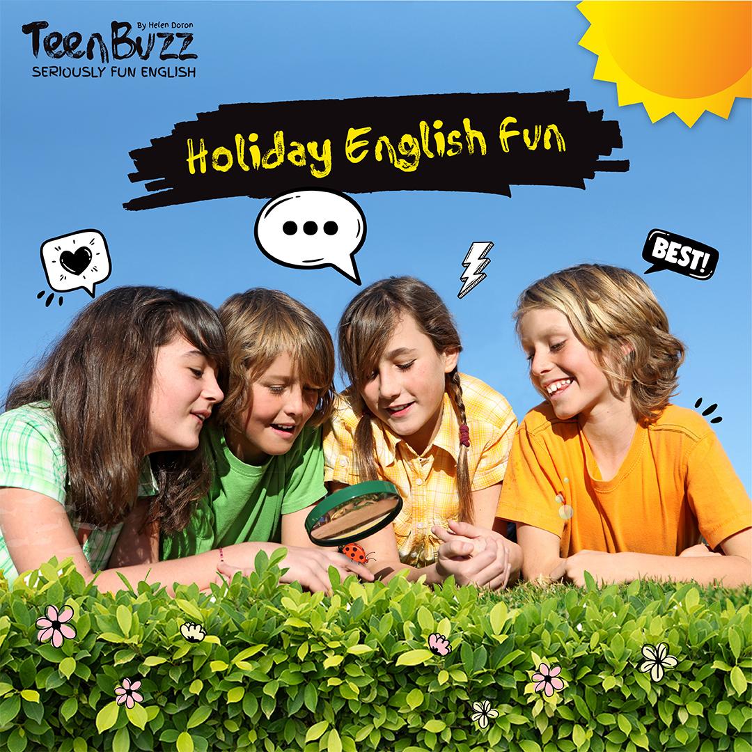 Stage d'anglais vacances d'été 2021
