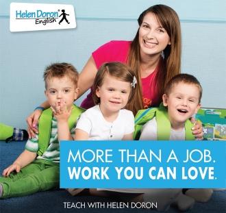 Devenez professeur certifié Helen Doron English – les meilleurs professeurs d'anglais langue étrangère (EFL) au monde.