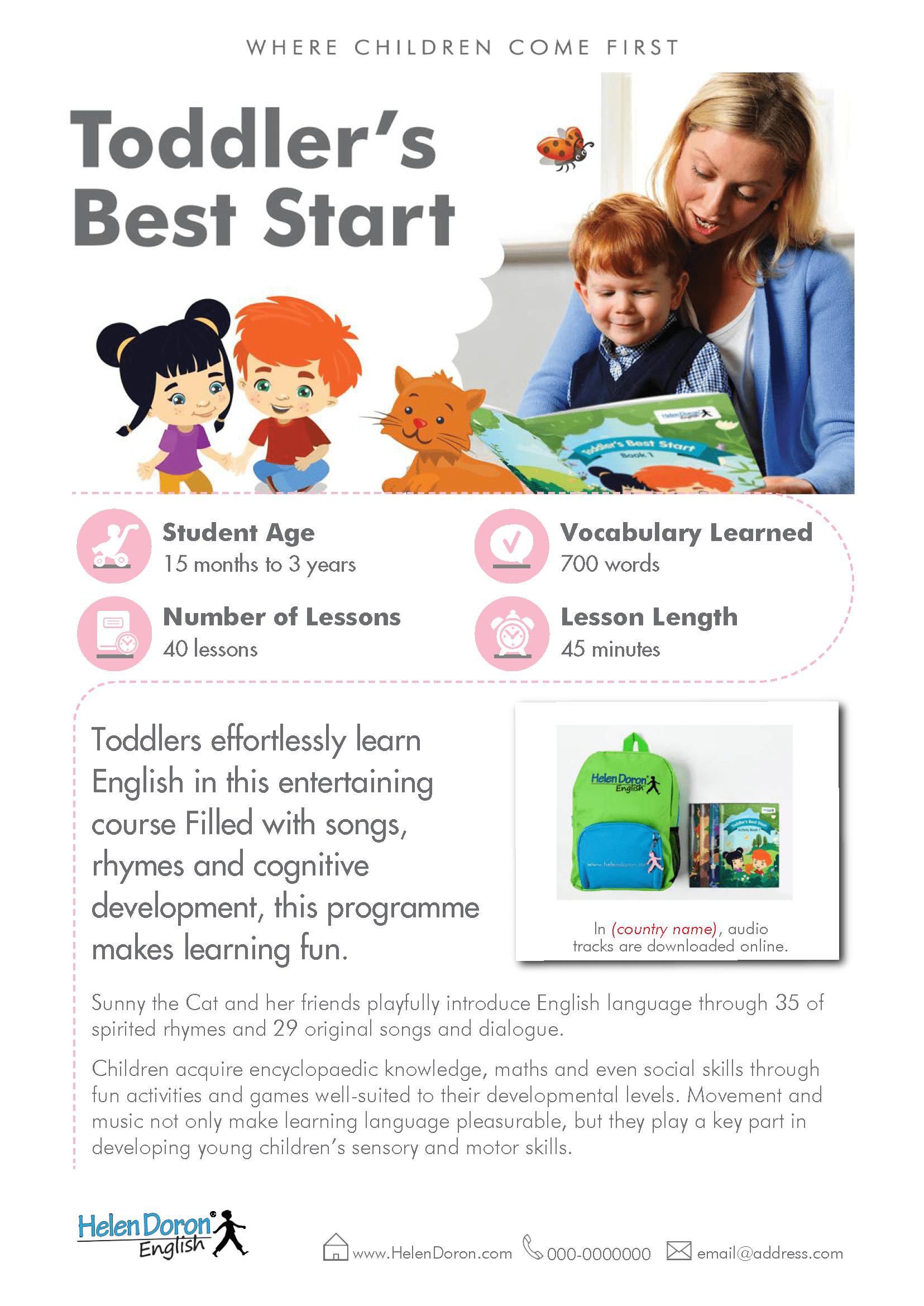 Télécharger - Toddler's Best Start