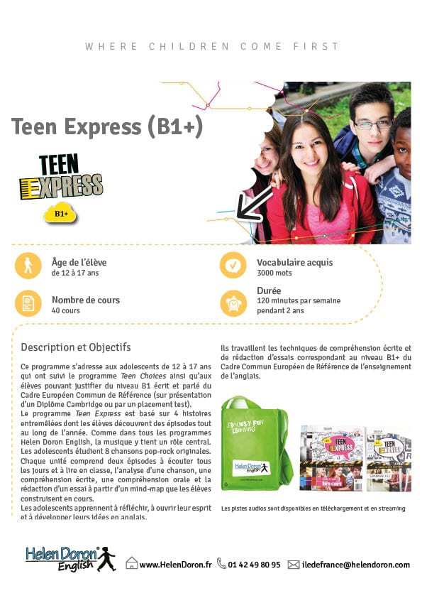 Télécharger - Teen Express (B1+)‎