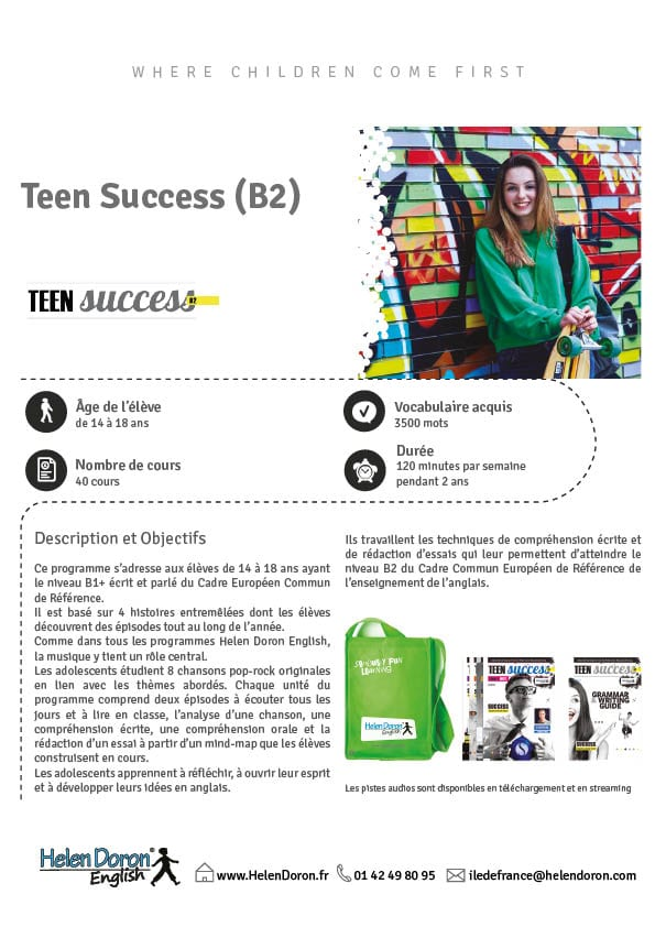 Télécharger - Teen Success (B2)‎
